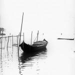 """""""""""Vipera"""" nella laguna vicina a Murano"""", 1973 - M. Orioli"""